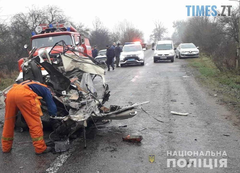 10.37.39  - У моторошній ДТП на Житомирщині загинуло двоє людей і дитина (ФОТО)