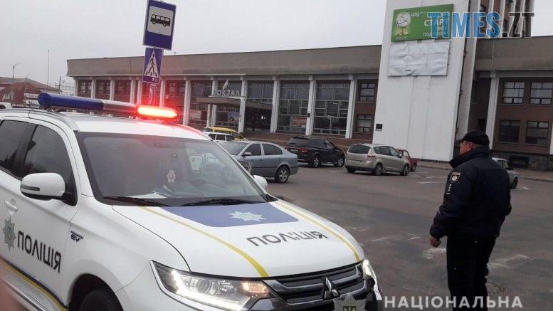 """mashyna 777x437 - Залізничний вокзал у Коростені """"замінував"""" психічно хворий чоловік, - поліція"""
