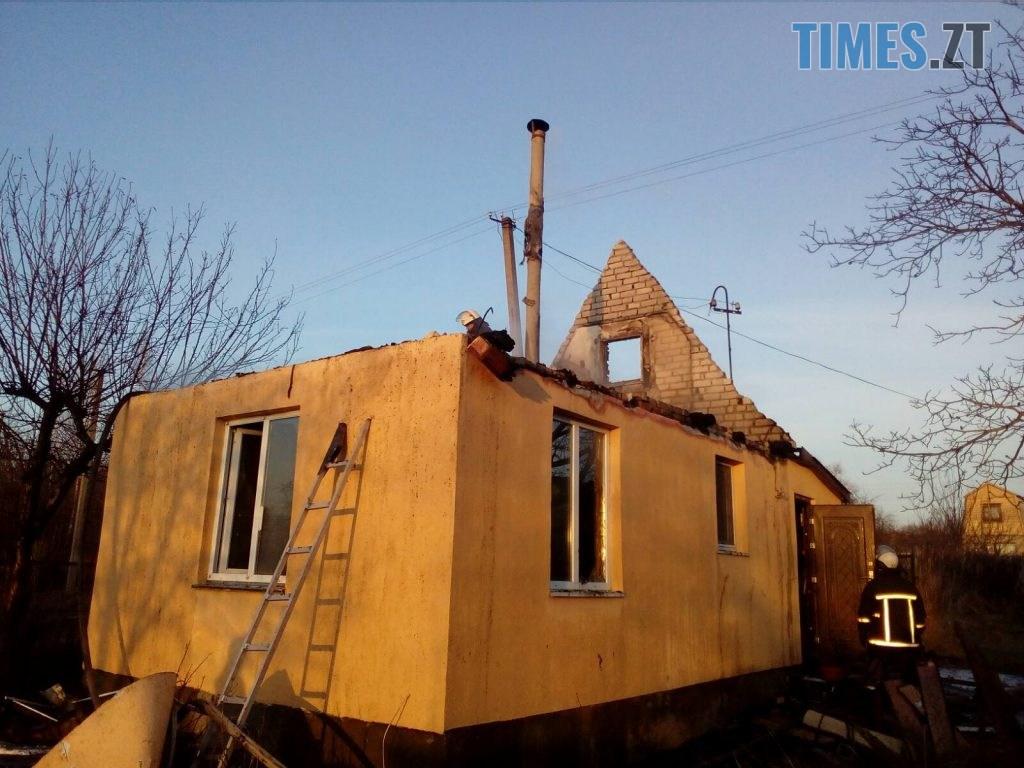 03 1024x768 - Лише за одну добу надзвичайники ліквідували дві пожежі у приватних будинках Житомирщини  (ФОТО)