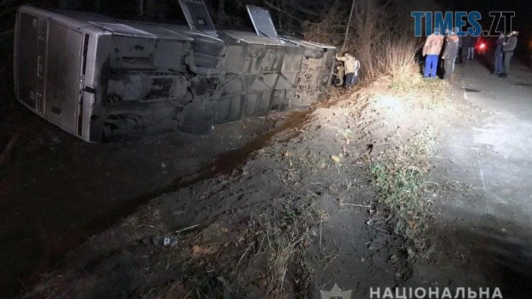 09 44 47 1 777x437 - На трасі під Житомиром перекинувся міжнародний автобус із пасажирами, є травмовані (ФОТО)