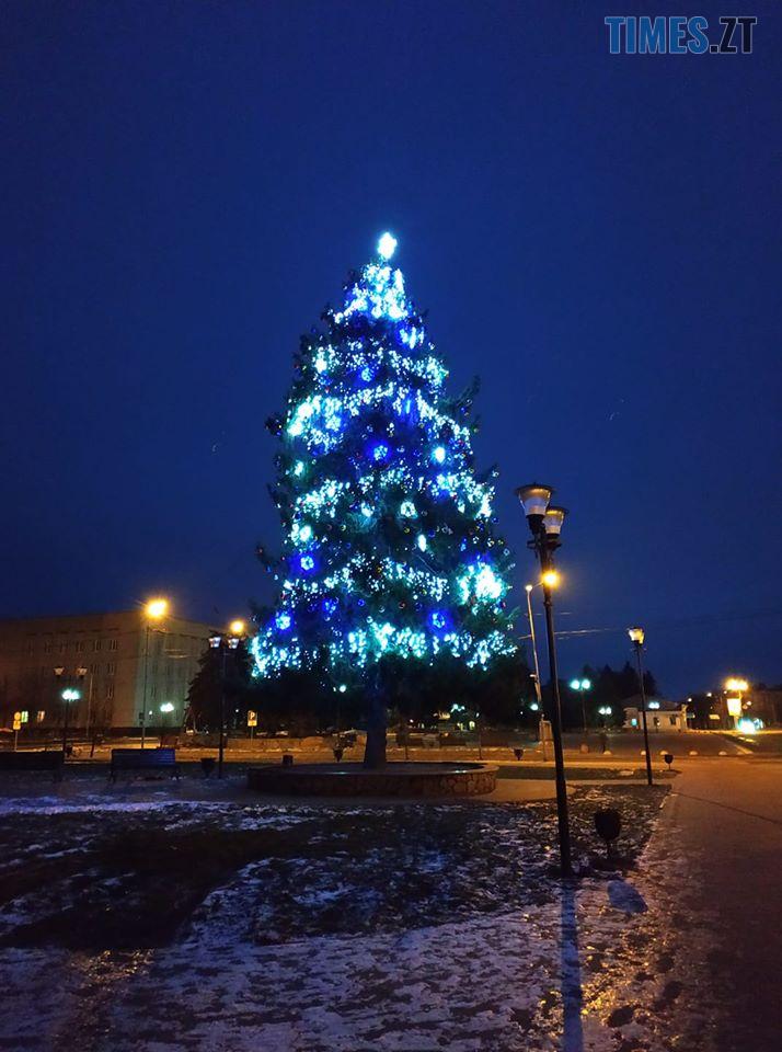 """76702490 2302286713327085 3084677281860288512 n - """"Не ялина, а жахіття"""": бердичівляни критикують новорічну """"красуню"""", встановлену в центрі міста (ФОТО)"""