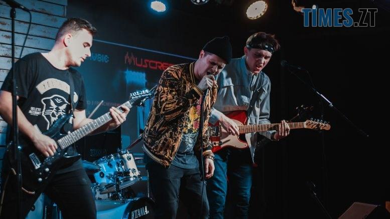 DSC 0481 777x437 - «Не стій» — гурт «Gar4Ica Band» презентував музичну історію житомирянина Максима Калінчука
