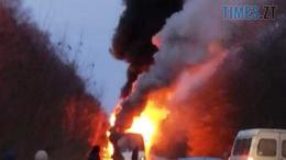 Screenshot 4 260x146 - На Житомирщині під час руху загорівся рейсовий автобус (ФОТО)