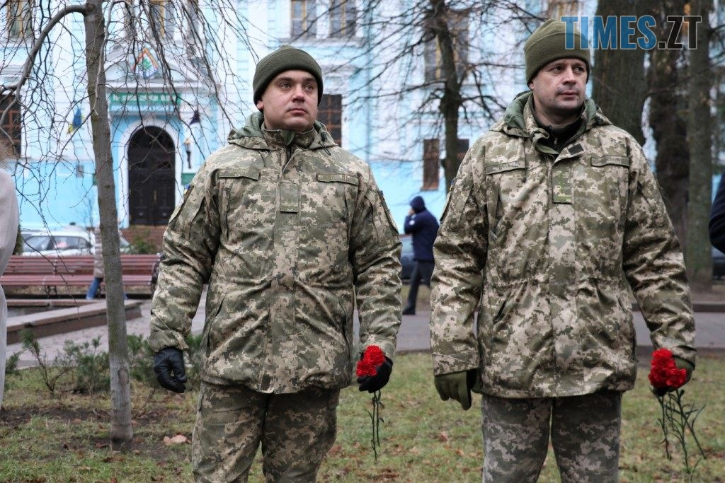 img1576227385 1024x683 - Як у Житомирі вшановували пам'ять ліквідаторів аварії у Чорнобилі (ФОТО)