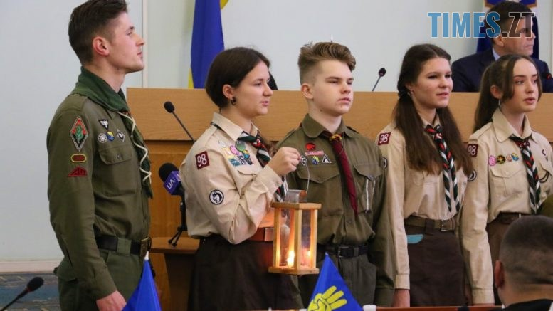 img1576655339 0 777x437 - Скаути привезли до Житомира Вифлеємський вогонь миру (ФОТО)