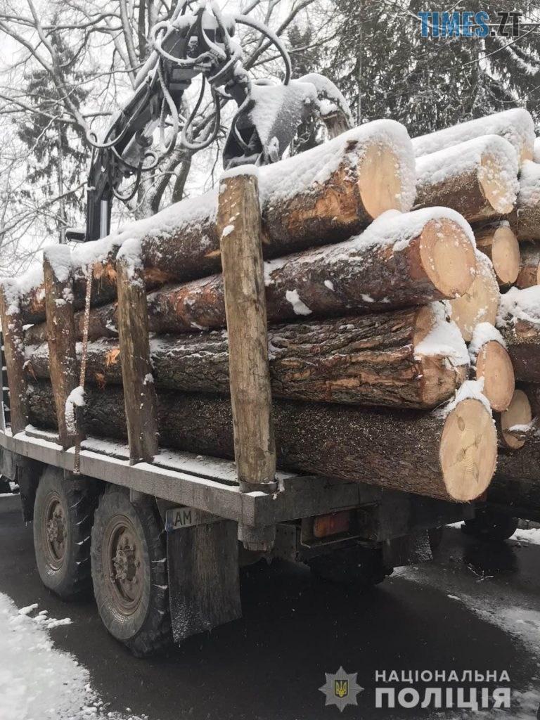 """zobrazhennia viber 2019 12 28 09 20 19 768x1024 - На Житомирщині правоохоронці затримали вантажівки, набиті """"лівою"""" деревиною"""