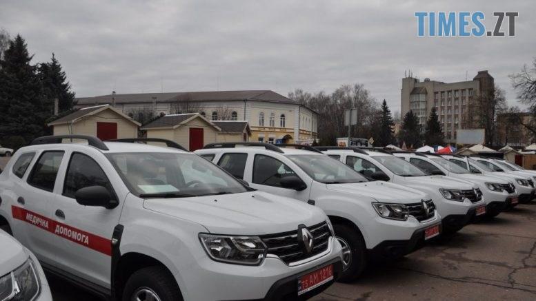 DSC 0911 1024x680 777x437 - Сільські лікарні Житомирщини отримали 18 сучасних автомобілів