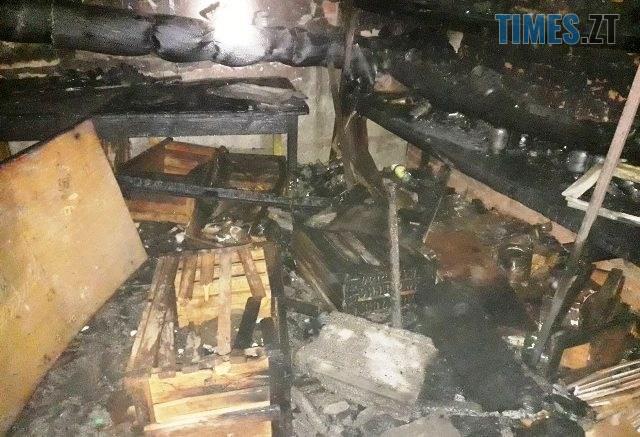 IMG 2895 640x437 - В одній з багатоповерхівок Коростишева безхатченки спричинили пожежу