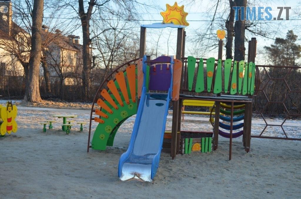 img1578485046 0 1024x678 - У Житомирі встановили ще один дитячий спортивний майданчик (ФОТО)