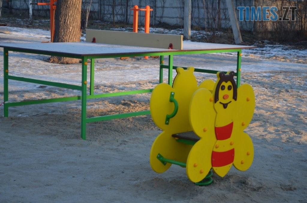 img1578485046 2 1024x678 - У Житомирі встановили ще один дитячий спортивний майданчик (ФОТО)