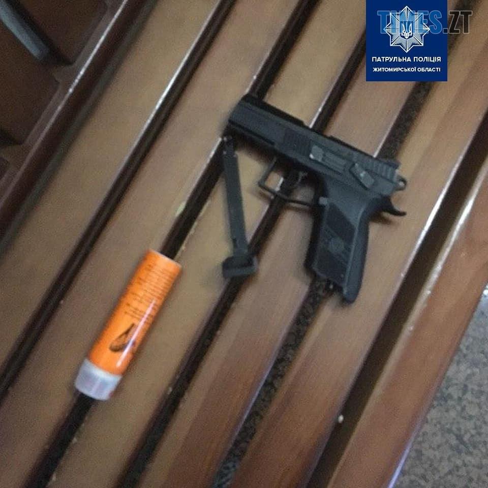 87031086 1097129997290105 2381652179875266560 n - У міськраді Житомира затримали двох озброєних до зубів чоловіків (ФОТО)