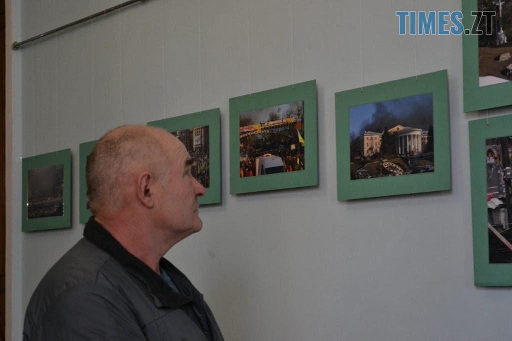 DSC 0027 1024x683 - «Скам'янілі душі»: У Житомирі Леонід Шрайбікус презентував фотовиставку про Героїв Небесної Сотні (ФОТО)