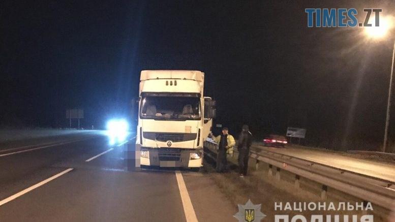DTP 777x437 - Трагічна смерть під колесами вантажівки: правоохоронці розслідують обставини ДТП на Звягельщині (ФОТО)
