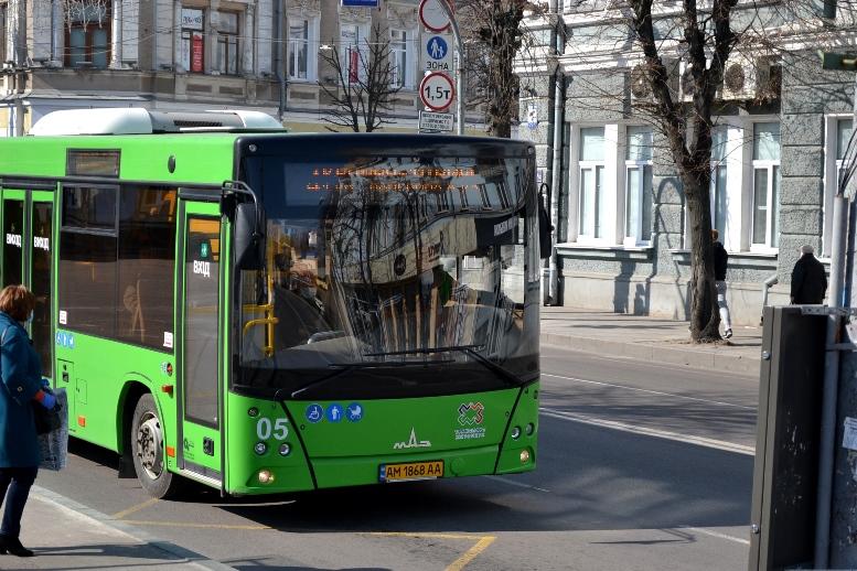 01 7 - По Житомиру їздять порожні муніципальні автобуси №4. Зате часто (ФОТО)