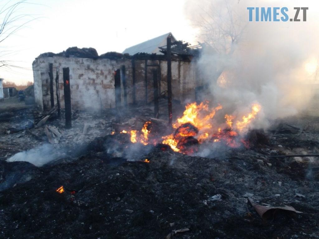 20200323 175018 1024x768 - На Житомирщині через пустощі з вогнем ледь не згорів будинок багатодітної родини (ФОТО)