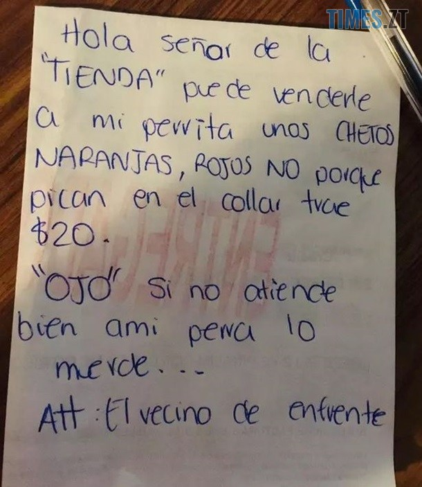 2484186 - Мексиканець на самоізоляції відправив свого песика в магазин (ФОТО)