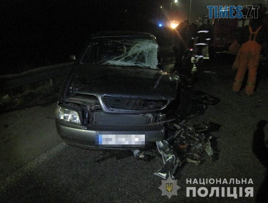 """IMG 6844 1024x778 - Нетвереза аварія на Житомирщині: Audi """"поцілувалася"""" з вантажівкою (ФОТО)"""