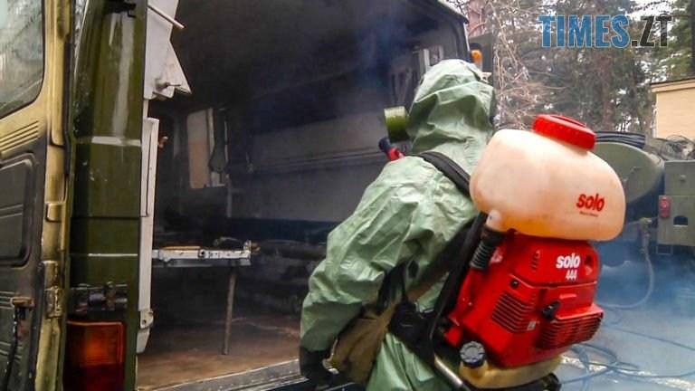 NAVCH MED 5 768x432 - ЗСУ тренуються розгортати військові госпіталі для прийому інфекційно хворих (ФОТО)