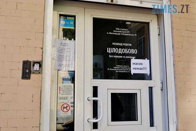 05 4 - Аптечна Варта: маски та антисептики в Житомирі є! Але є й різні нюанси (ФОТО)