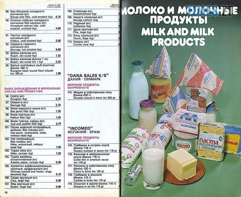 11 - Радянський дефіцит – міф. Як виглядали харчові делікатеси в СРСР (реальні ФОТО)