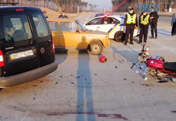 Screenshot 4 2 - На Житомирщині у моторошній ДТП травмувався мотоцикліст (ФОТО)