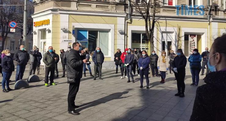 Screenshot 4 3 - Житомирський міський голова Сергій Сухомлин закликає підприємців поки не платити за оренду