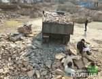 """kamin 150x116 - На Олевщині правоохоронці """"прикрили"""" нелегальний бізнес по видобутку каменю (ФОТО)"""