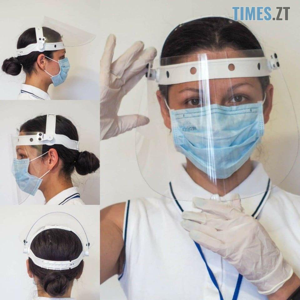 masky 1 - Стан хворого медика та захист її колег на роботі: COVID-19 у Бердичеві