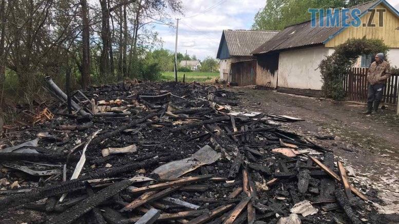 01 8 777x437 - Житомирщина: близько 5 годин рятувальники ліквідовували пожежу на території приватного обійстя