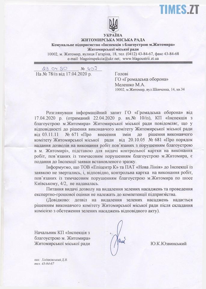 96066589 225895292197346 5774150171566800896 o - Ні обіцянок, ні податків: «Епіцентр» в Житомирі працює на краденій землі