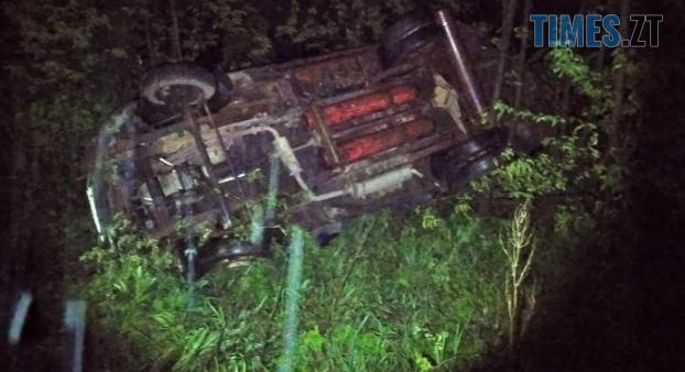 Screenshot 1 29 - На Житомирщині зіштовхнулися Renault та ГАЗ, останній перекинувся (ФОТО)