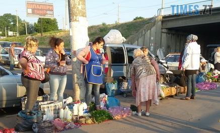 Screenshot 6 8 - У Житомирі неподалік вокзалу закриють стихійний базарчик, де торгують сільськогосподарською продукцією