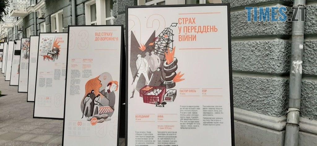 106101319 212310966515052 3574540060449225742 n 1024x472 - Життя цивільних за часів війни: в Житомирі проходить інтерактивна виставка «На зламі» (ФОТО)