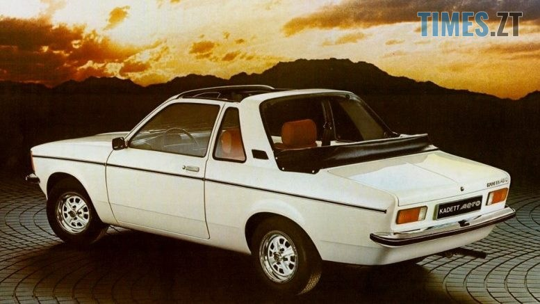 11 1 - Opel Kadett Aero: німецький «жигуль», який ламав мозок радянським школярам (ФОТО, ВІДЕО)