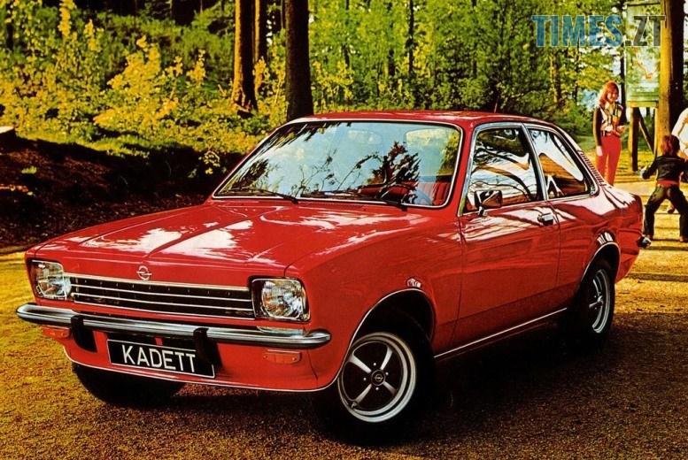 14 1 - Opel Kadett Aero: німецький «жигуль», який ламав мозок радянським школярам (ФОТО, ВІДЕО)