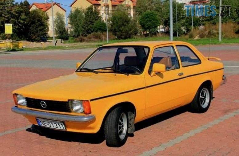 24 - Opel Kadett Aero: німецький «жигуль», який ламав мозок радянським школярам (ФОТО, ВІДЕО)