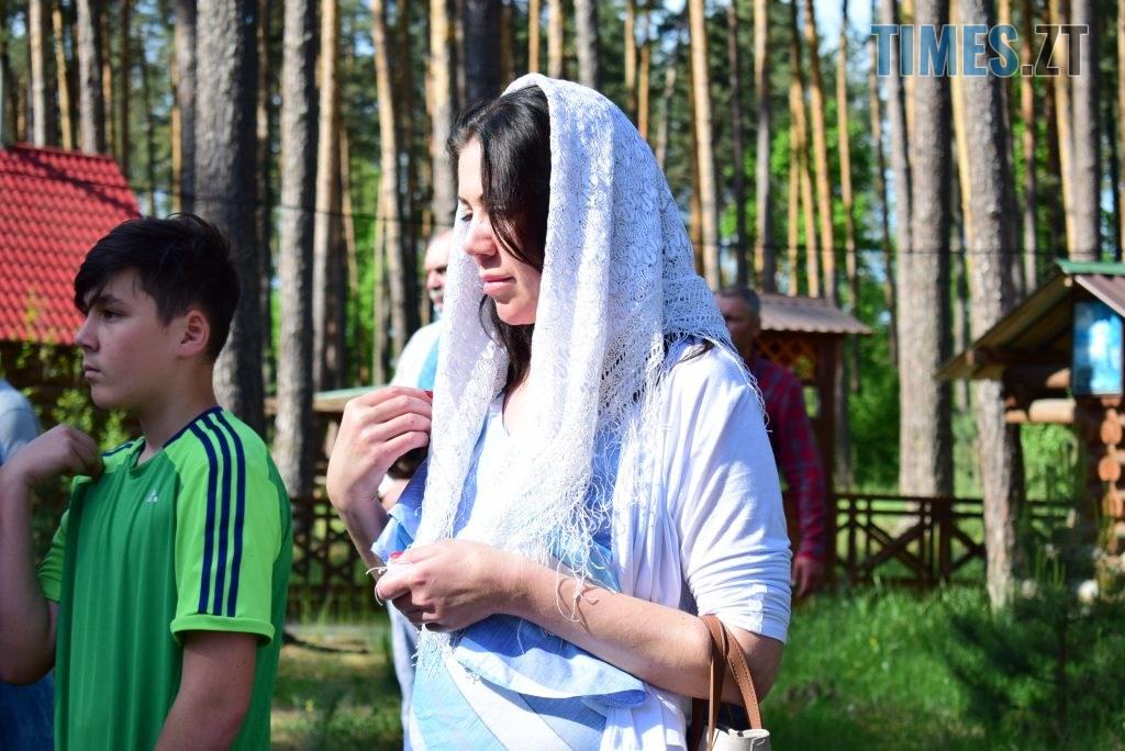 DSC 0125 1024x684 - Святий дух поєднав житомирян у єдиній молитві у Свято-Духівському чоловічому монастирі (ФОТО)