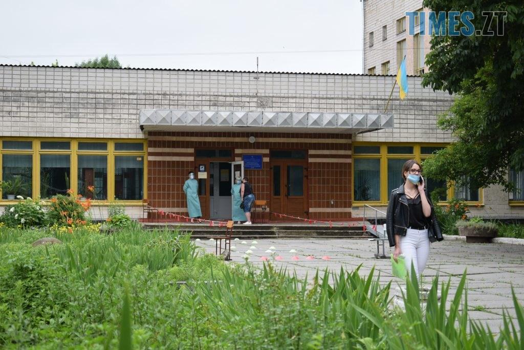 DSC 1006 1024x684 - Перше ЗНО 2020 на Житомирщині: враження та карантинні обмеження