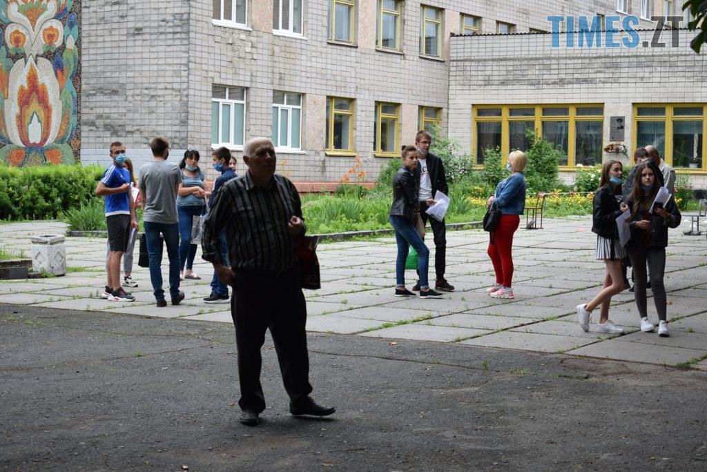 DSC 1009 1024x684 - Перше ЗНО 2020 на Житомирщині: враження та карантинні обмеження