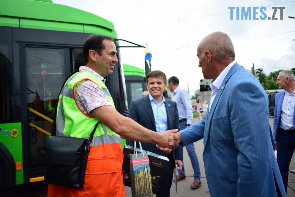 DSC 1059 1024x684 - Житомир отримав новенькі тролейбуси від Білорусі (ФОТО)