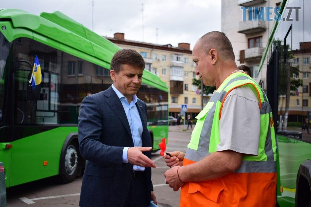 DSC 1081 1 1024x684 - Житомир отримав новенькі тролейбуси від Білорусі (ФОТО)