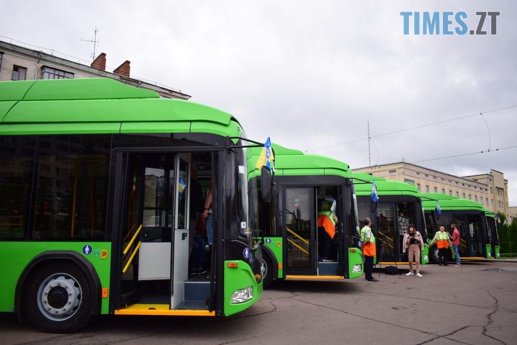 DSC 1108 1024x684 - Житомир отримав новенькі тролейбуси від Білорусі (ФОТО)