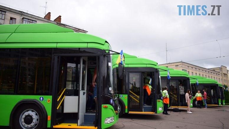 DSC 1110 777x437 - Житомир отримав новенькі тролейбуси від Білорусі (ФОТО)