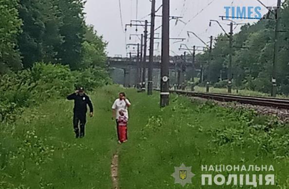 Screenshot 3 9 - На Житомирщині врятували жінку, яка намагалася кинутися під потяг із 5-річною донькою