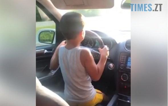 dytyna2 - Житомирянин  дозволив 7-річному племіннику самостійно керувати авто та їхати 100 км/год