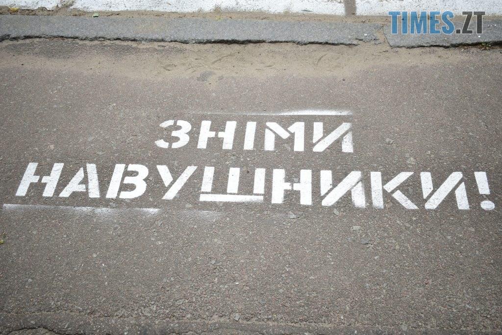 01579622 3928 43b6 a1c7 ba4e7ac786bf 1024x684 - Повна рожа та шеврони: в Житомирі пішохідний перехід оздобили українським орнаментом (ФОТО)