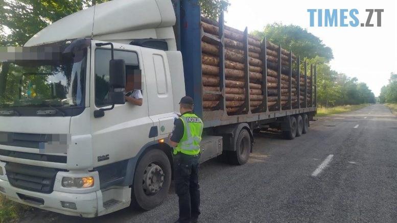 084952 777x437 - Вантажівку із понад 21 кубометрами незаконно зрізаних лісоматеріалів виявили патрульні Радомишльського району