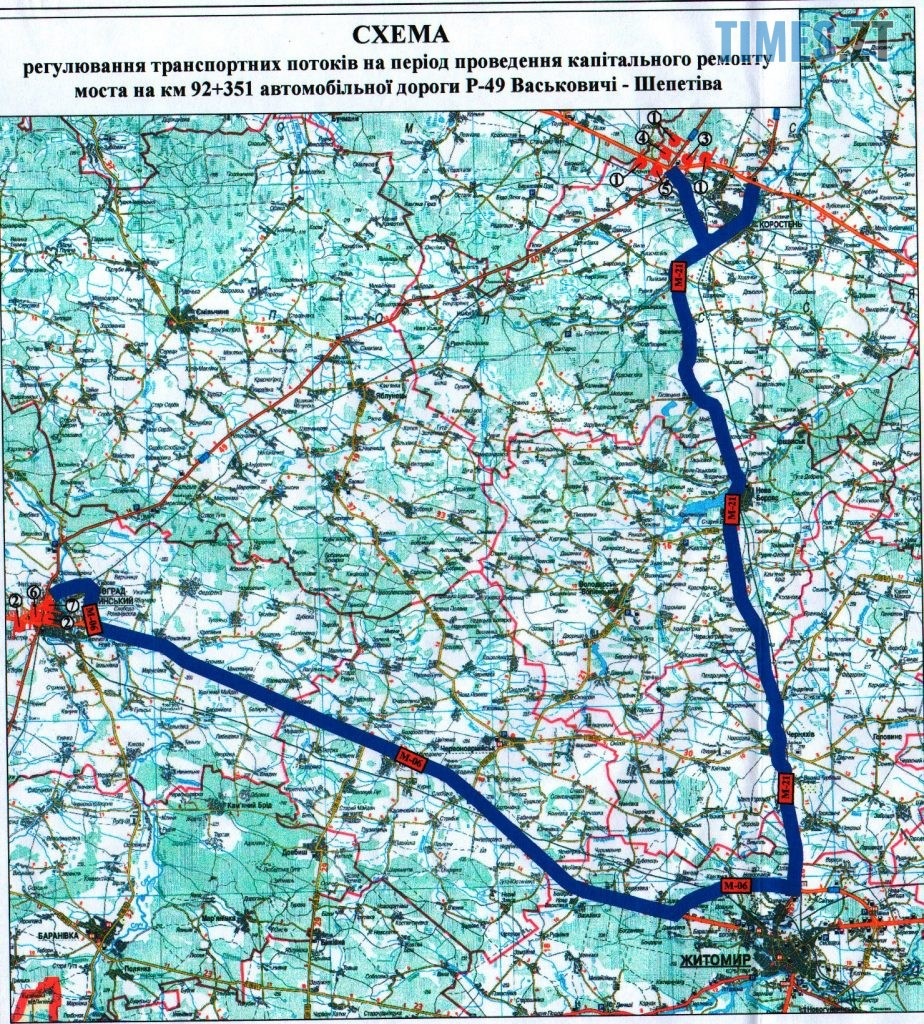 1 1 924x1024 - З наступного тижня рух мостом у Новоград-Волинському районі буде закрито! (СХЕМА)