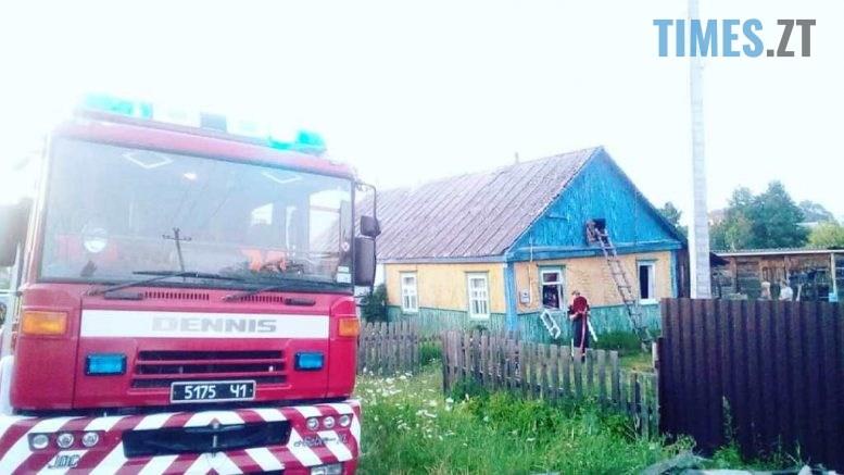 1 777x437 - Через несправну проводку у Коростені зайнявся будинок на двох господарів  (ФОТО)