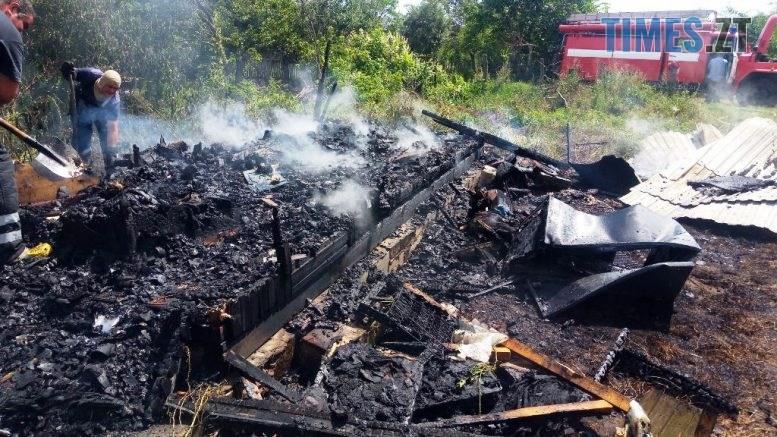 2 777x437 - Через несправну проводку на Житомирщині в один день згоріли два будинки (ФОТО)